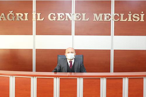 Vali Varol, İl Genel Meclisi 2021 Yılı Ocak Ayı Toplantısına Katıldı