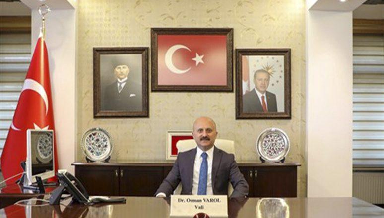 Vali Dr. Osman Varol'un, 10 Ocak Çalışan Gazeteciler Günü Mesajı