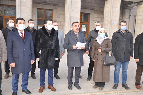 AK Parti Ağrı İl Teşkilatından Ortak Suç Duyurusu