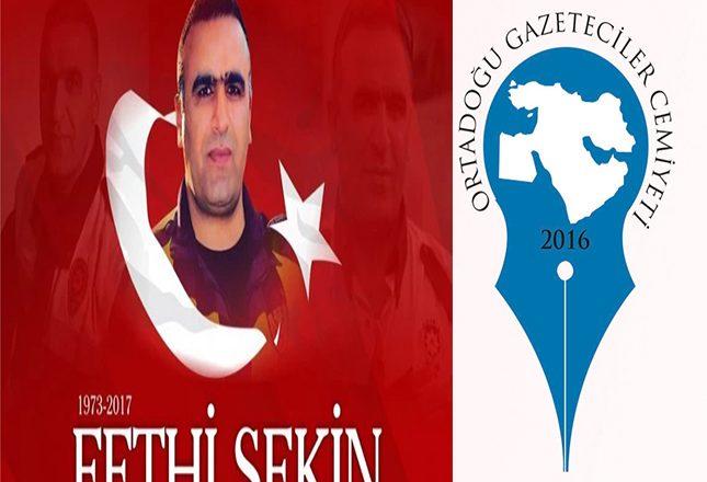 Kahraman Fethi Sekin'i Rahmetle Yad Ediyoruz