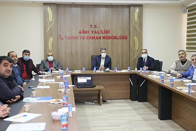 Ağrı'da 14.Etap KKYDP Bilgilendirme Toplantısı Yapıldı
