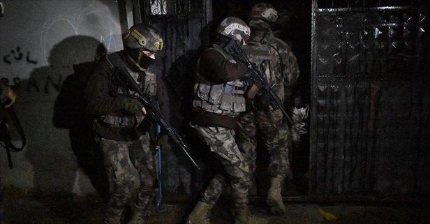 Suç Örgütüne 50 İlde Büyük Darbe, 220 Gözaltı