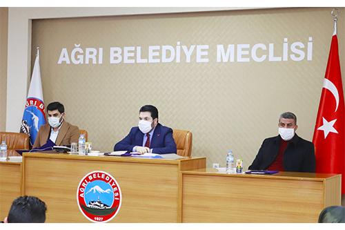 2021'in ilk meclis toplantısı gerçekleştirildi