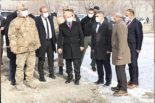 Vali Varol, Tutak'ta Çeşitli Ziyaret ve İncelemelerde Bulundu