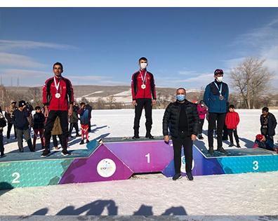 Ağrı'lı Kayakçılar Sezona İyi Başlangıç Yaptı