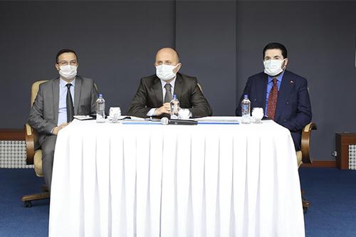 Vali Varol 5 Yılda 750 Bin Koyun Projesi Toplantısına Katıldı