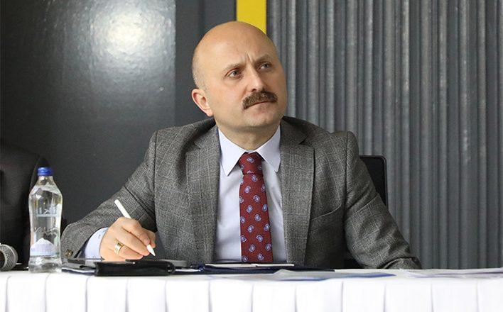 Vali Varol,İl Koordinasyon Kurulu Toplantısına Katıldı