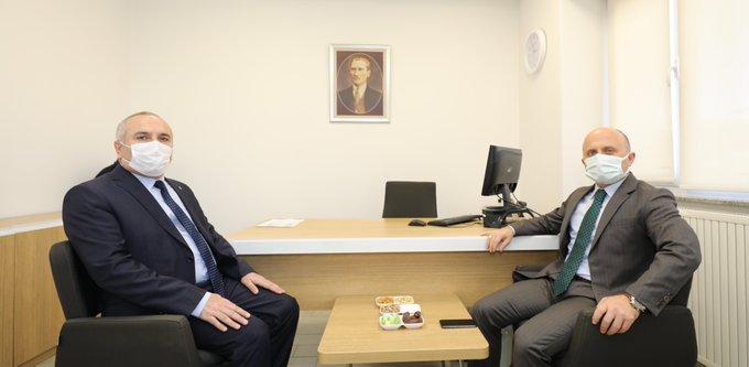 Vali Varol'dan Ziraat ve Türkiye Halk Bankası Ağrı Şubelerine Ziyaret