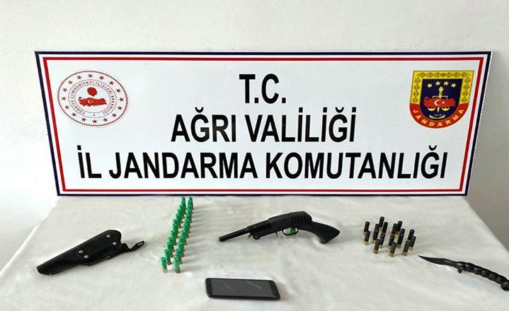 Ağrı'da terör örgütü PKK/KCK'ya yönelik operasyonda 14 gözaltı