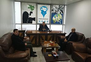 Hak İş Ağrı İl Başkanı Varol'dan, OGC'ye Ziyaret