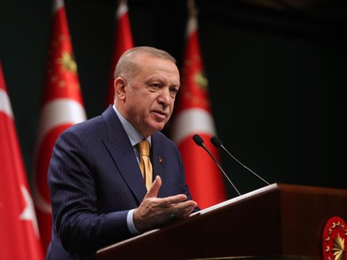 "Cumhurbaşkanı Erdoğan: ""Adalet davamızın pusulası insandır, insan onurudur"""