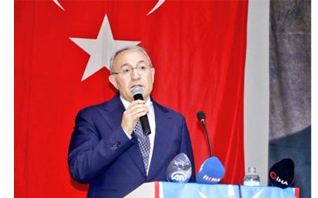 AK Parti Ağrı İl Başkanı Halil Özyolcu'ya Sevgi Gösterisi