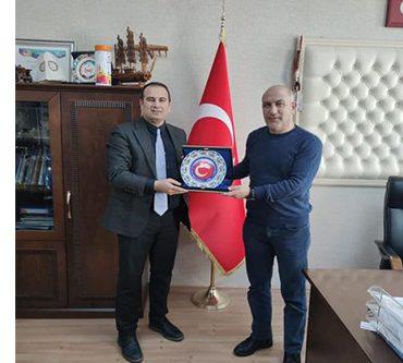 ASKF Başkanı Erkan Kösedağ, Dekan Prof.Dr. Gökhan Bayraktar'ı Ziyaret Etti