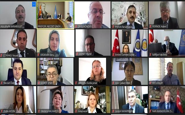 AİÇÜ ile Ankara Üniversitesi, YÖK Anadolu Projesi'nin İlk Toplantısını Yaptı