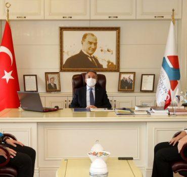 TTF Başkanı Durmuş'tan, Rektör Karabulut'a Ziyaret