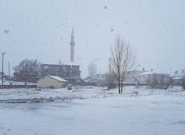 Ağrı ve çevre illerde kar yağışı hayatı olumsuz etkiliyor