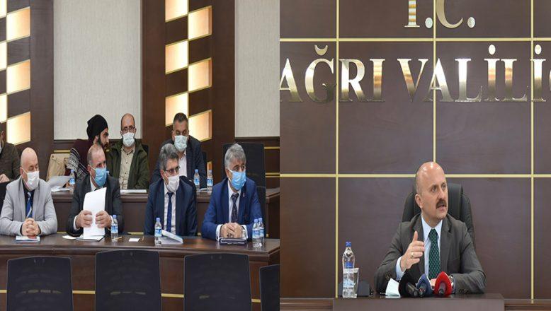 Ağrı Valisi Dr. Osman Varol, Basın Mensuplarıyla Bir Araya Geldi