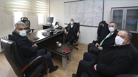 Ağrı Valisi Dr. Osman Varol, İl Emniyet Müdürlüğünü ziyaret etti