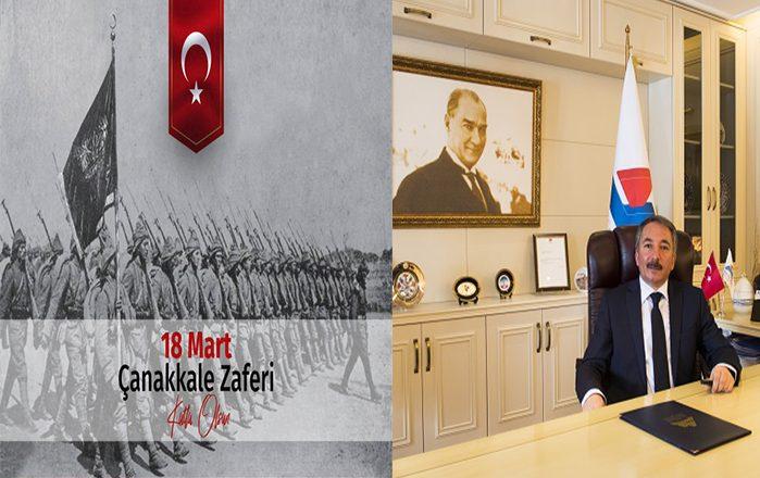 AİÇÜ Rektörü KARABULUT'un 18 Mart Çanakkale Deniz Zaferi Mesajı