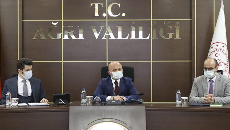 Vali Varol, İl Pandemi Koordinasyon Kurulu Toplantısına Katıldı