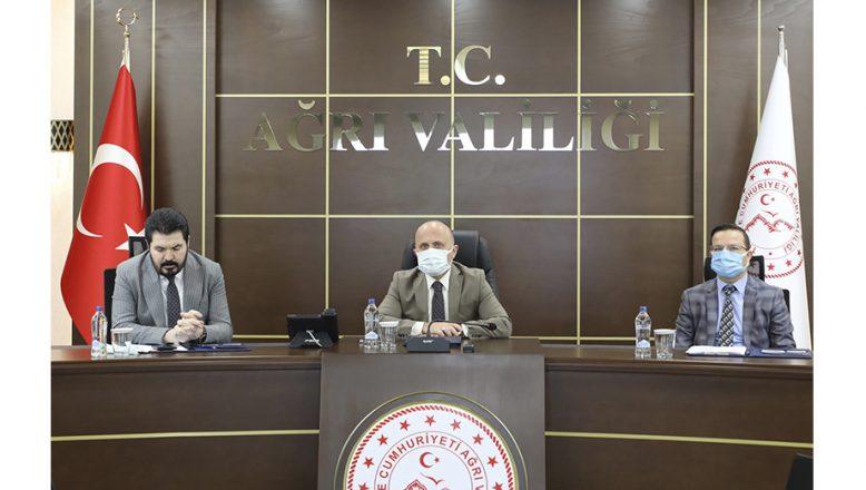 Vali Varol Gıdakent Projesinin Ele Alındığı Çalışma Grubu Toplantısına Katıldı