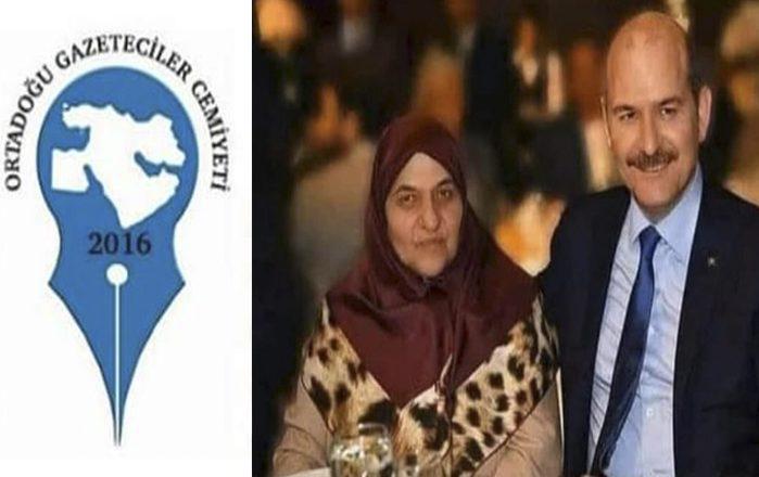 OGC'den Annesini Kaybeden İçişleri Bakanı Süleyman Soylu'ya Taziye Mesajı