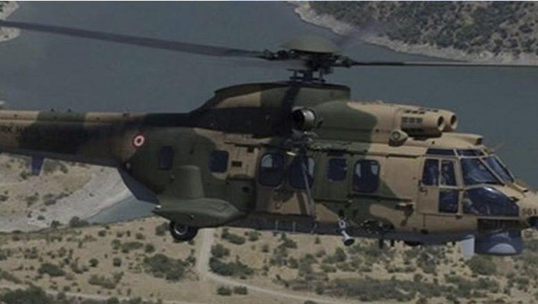 Askeri Helikopter Düştü 9 Şehidimiz Var
