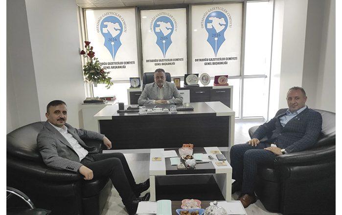 Orta Doğu Gazeteciler Cemiyetine Anlamlı Ziyaret