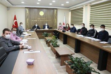 Ağrı'da OSB ve Et Entegre Tesisi Kapsamında Değerlendirme Toplantısı Yapıldı