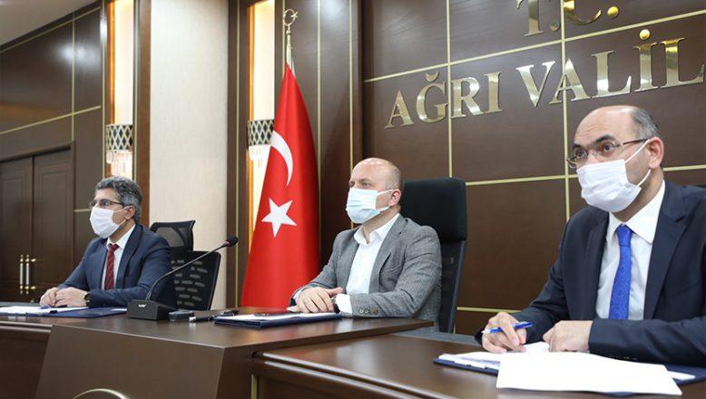 Vali Varol Başkanlığında İl Toprak Koruma Kurulu Toplantısı Düzenlendi