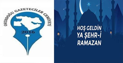 OGC Genel Başkanı Nihat Aydın'ın Ramazan Ayı Mesajı