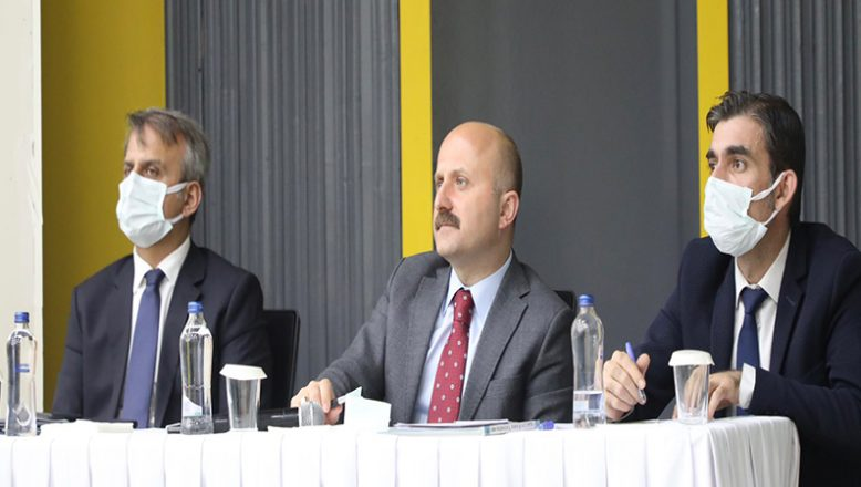 Vali Varol'un Başkanlığında, İl Koordinasyon Kurulu Toplantısı Düzenlendi