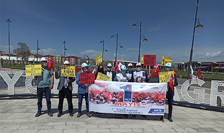 HAK-İŞ'DEN 1 Mayıs Emek ve Dayanışma Günü Kutlama Mesajı