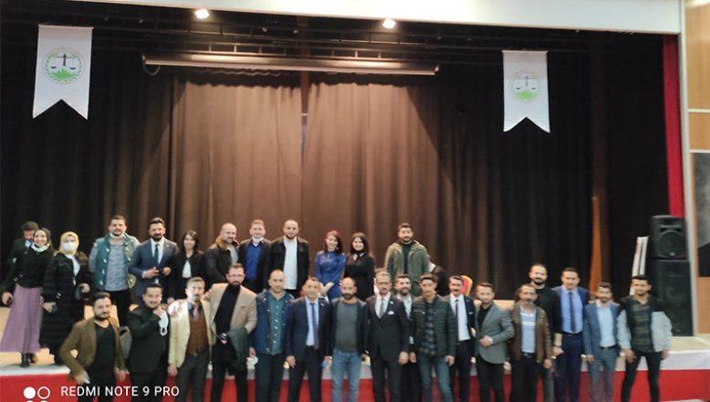 Av.M. Salih Aydın 60 Oy Farkla Yeniden Ağrı Baro Başkanı Seçildi