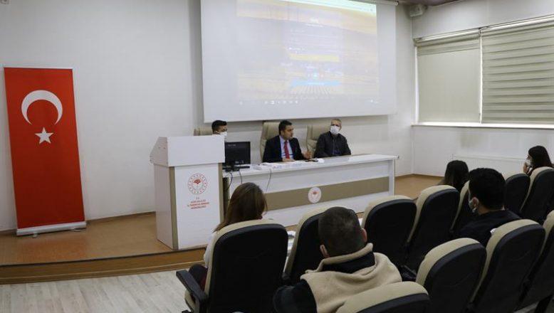 Ağrı'da Tarım Arazileri Yönetim Portalı Bilgilendirme Toplantısı Yapıldı