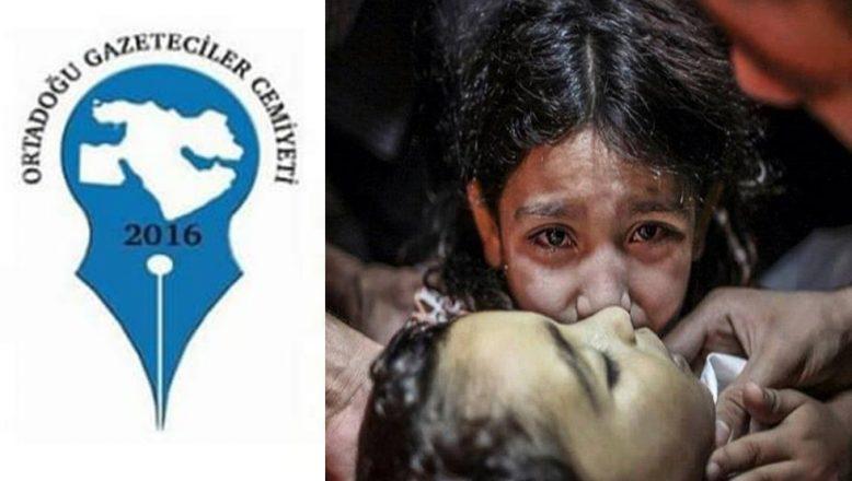 OGC'DEN İsrail'in Hain Saldırısına Kınama Mesajı