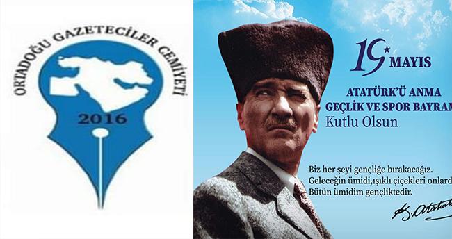 """OGC'nin """"19 Atatürk'ü Anma Mayıs Gençlik ve Spor Bayramı"""" Mesajı"""