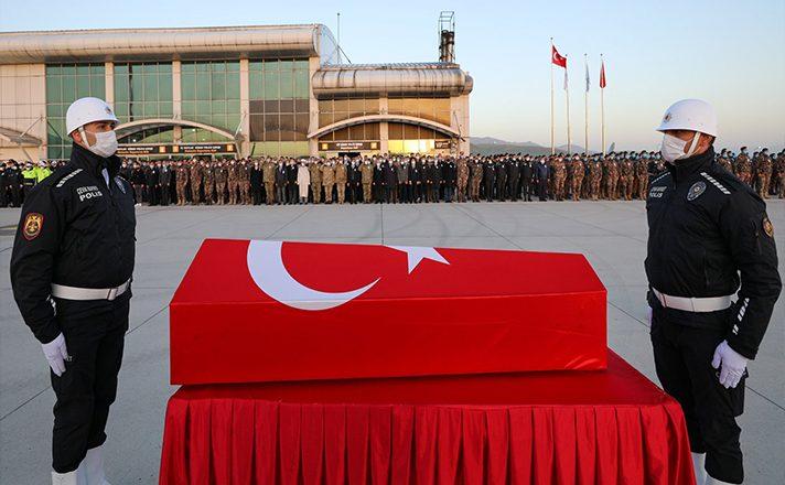 Şehit Veli Kabalay'ın Naaşı Memleketi Denizli'ye Uğurlandı