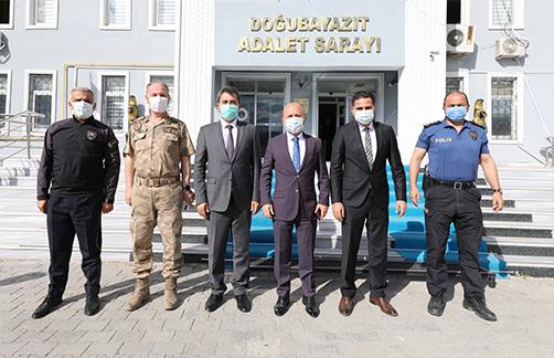Ağrı Valisi Dr. Osman Varol Doğubayazıt'ı Ziyaret etti
