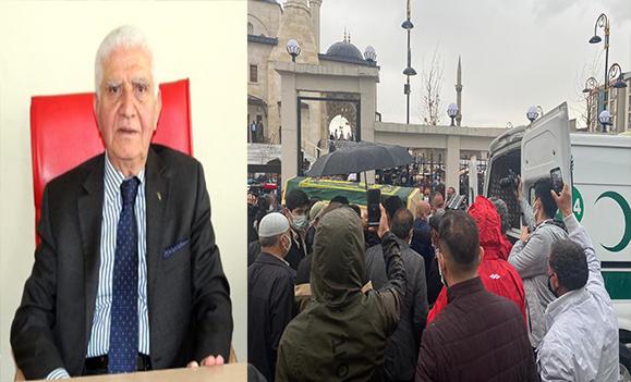 Siyasetçi Cemil ERHAN Binlerce Seveni Tarafından Son Yolculuğuna Uğurlandı