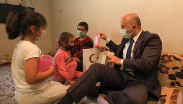 Vali Dr. Osman Varol, Çetin Ailesini Evlerinde Ziyaret Etti