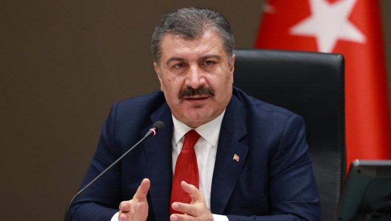 Sağlık Bakanı Koca, İllere Göre Yeni Kovid-19 Vaka Sayılarını Açıkladı