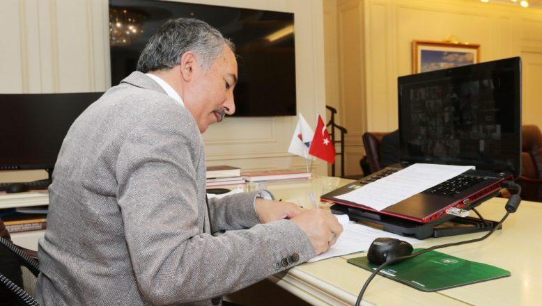 AİÇÜ, Türk Dünyası Dijital Vatandaşlık Projesi İş Protokolünü İmzaladı