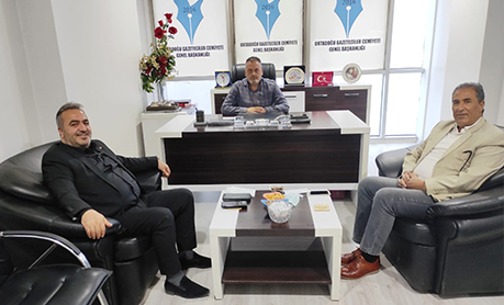 İş Adamı Yusuf Karahan ve Yalçın İnanlı'dan OGC Ziyareti