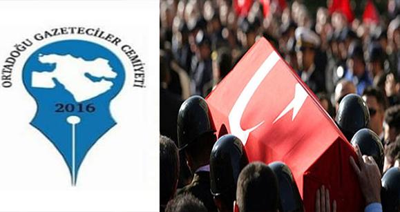OGC'den Bitlis Şehitleri İçin Başsağlığı Mesajı