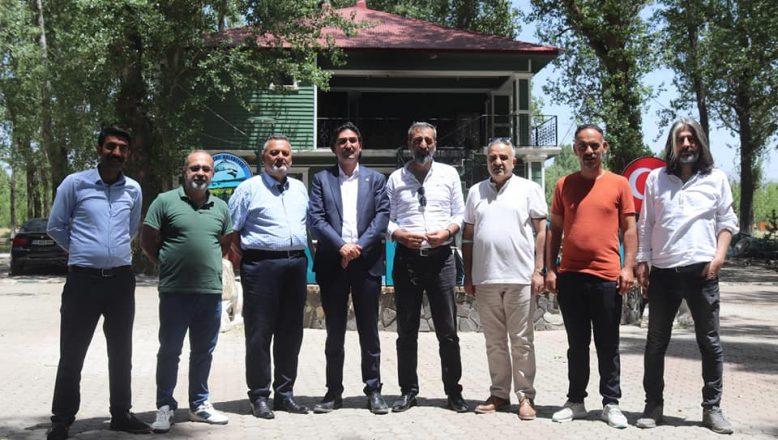 Taşlıçay Belediye Başkanı Taşdemir Basın Mensuplarıyla Bir Araya Geldi