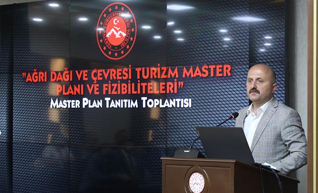 Ağrı Dağı ve Çevresi Turizm Master Planı Tanıtım Toplantısı Düzenlendi