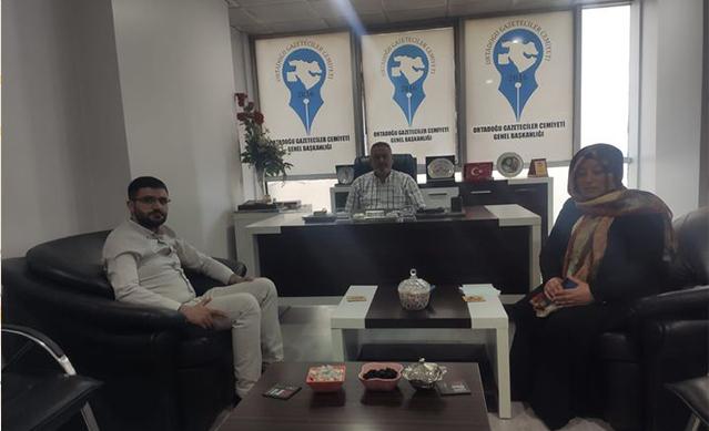 Ak Parti, Ağrı İnsan Hakları Başkanı Av. Emrah  Avcı'dan OGC'ye  Ziyaret