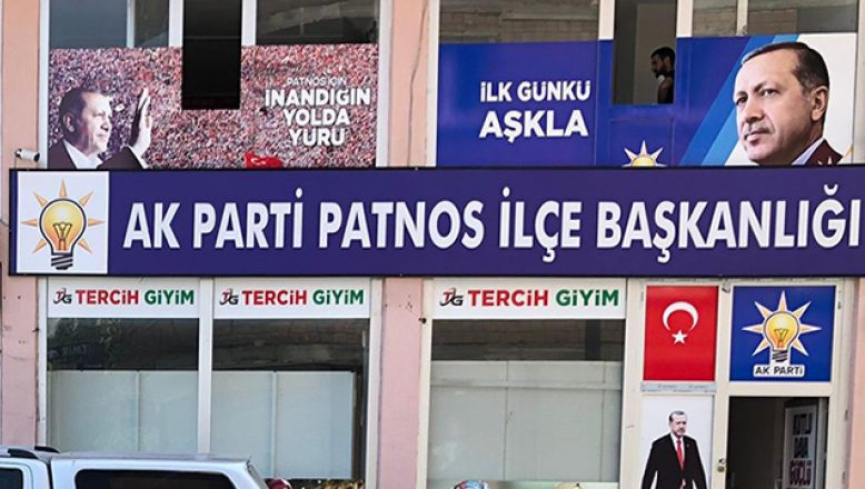 AK Parti Patnos İlçe Başkanlığına Saldırı Girişiminde Bulunmak İsteyen 4 Kişi Tutuklandı