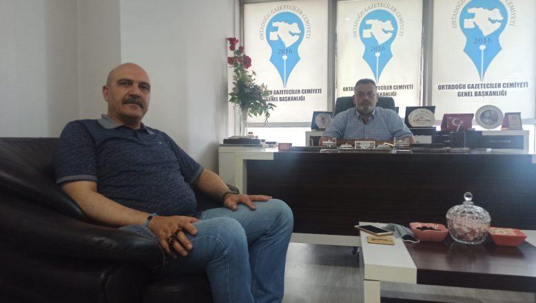 İşadamı Abidin Yenigün'den OGC Ziyareti